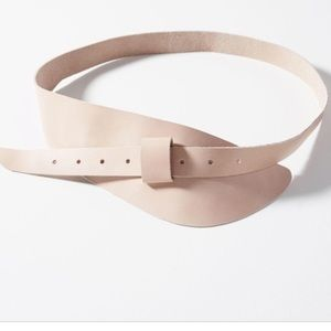 Anthropologie Michael Corset leather belt by ADA